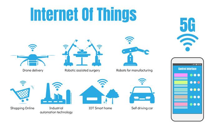 internet of things via 5g