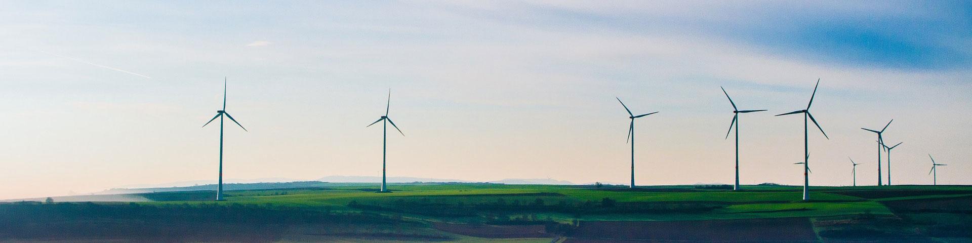 energie van windmolens