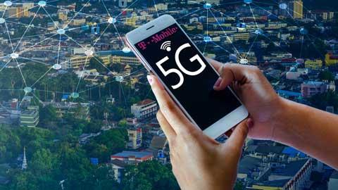 5G netwerk T Mobile