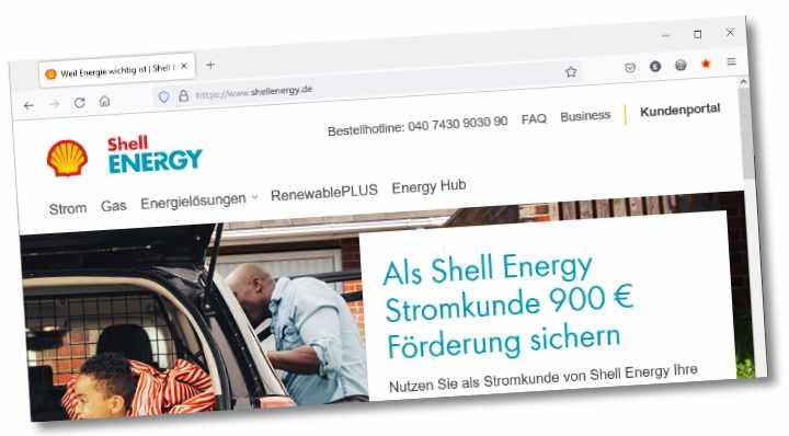 Shell Energy in Duitsland