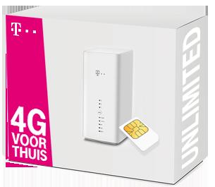 T Mobile 4G voor Thuis