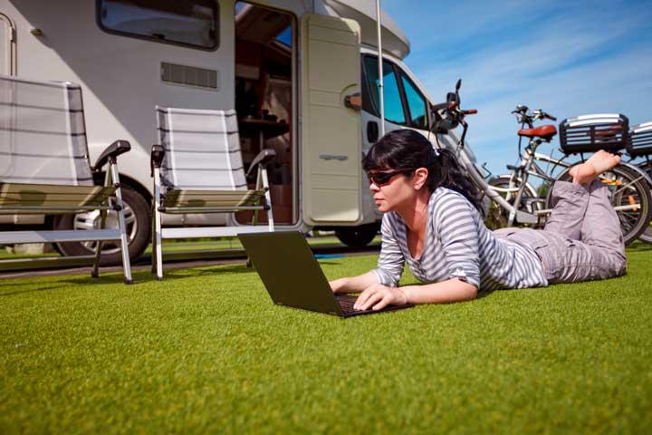 WiFi internet op de camping