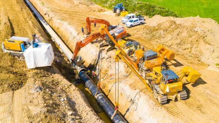 aanleg Nord Stream 2 gasleiding