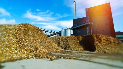 biomassacentrale in Diemen