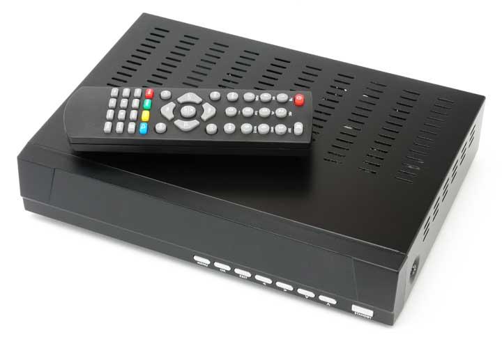 digitale TV ontvanger