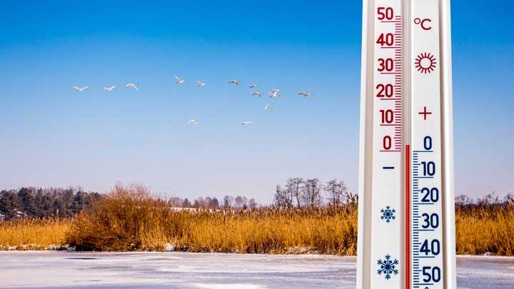 door warme winter minder energieverbruik