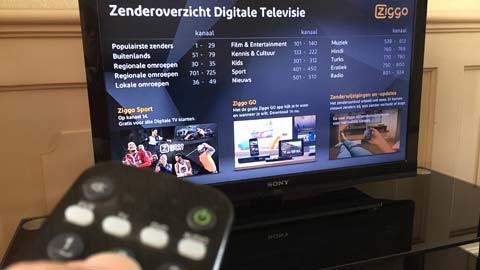 einde Ziggo analoge TV