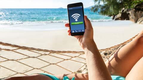 internetten op je vakantieadres