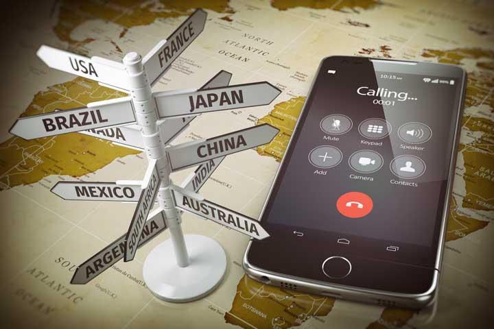 mobiel bereik wereldwijd
