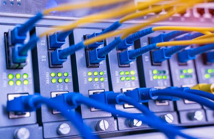 veel dataverkeer door thuiswerken