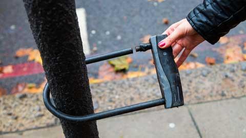voorkomen dat je fiets wordt gestolen