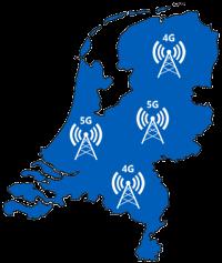 Tele2 dekkingskaart 4G 5G