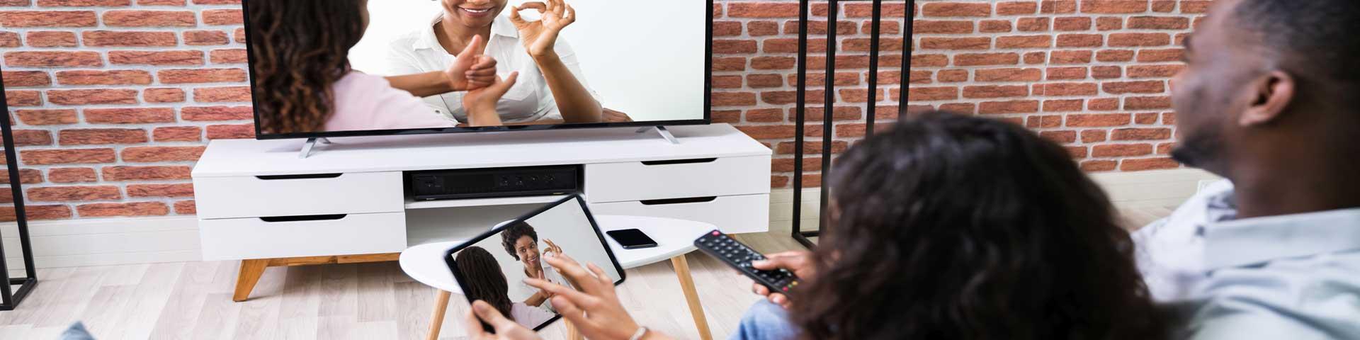 opties voor streamen naar je tv