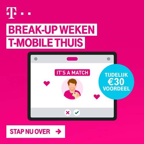 T-Mobile T-Mobile break-up weken!